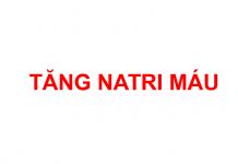 Tăng Natri máu