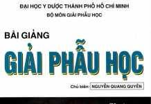 Bài giảng Giải Phẫu Học - Nguyễn Quang Quyền | Tập 1