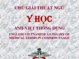Chú Giải Thuật Ngữ Y Học Anh-Việt Thông Dụng