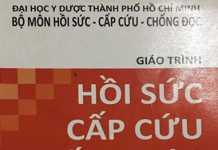 Giáo trình hồi sức cấp cứu và chống độc - ĐHYD TPHCM