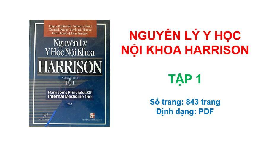 Nguyên Lý Y Học Nội Khoa Harrison (Tiếng Việt) | Tập 1