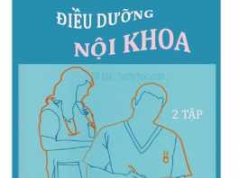 Sách Điều dưỡng Nội Tập 1, Sách Điều dưỡng Nội Tập 2