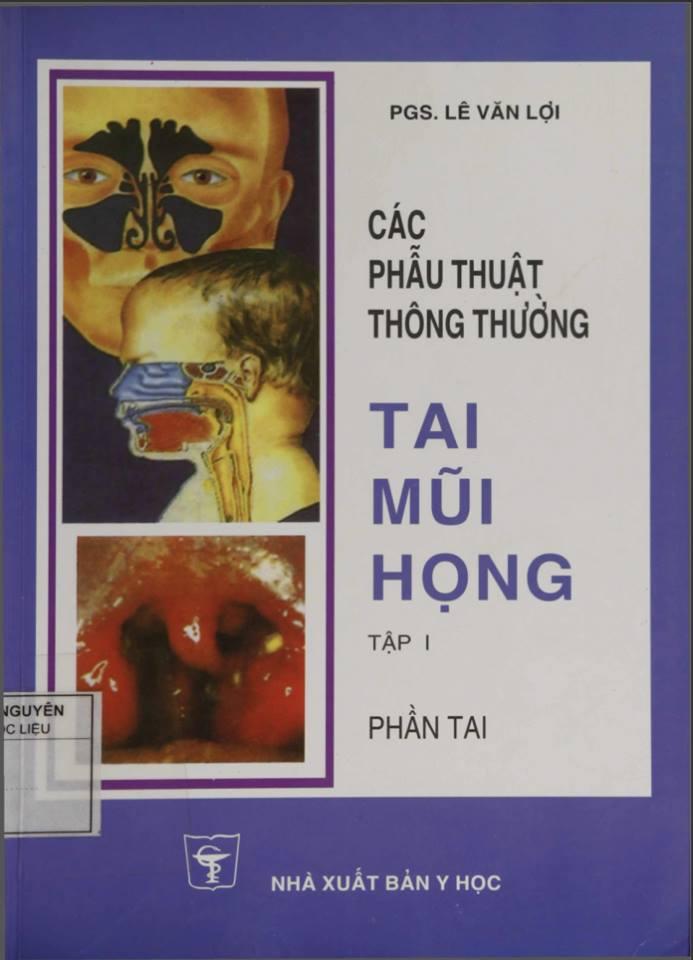 cac phau thuat thong thuong tai mui hong pdf