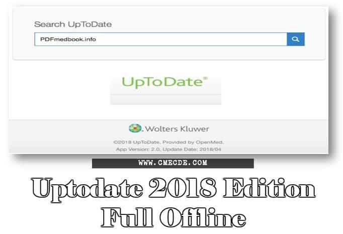 Chia sẻ UpToDate offline 2018