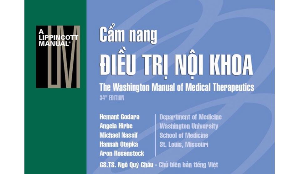 [PDF] Cẩm Nang Điều Trị Nội Khoa Washington Full (Tiếng Việt)