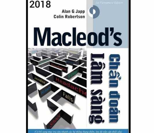 [PDF] Macleod's Chẩn Đoán Lâm Sàng Tiếng Việt Full PDF (Sách Dịch)