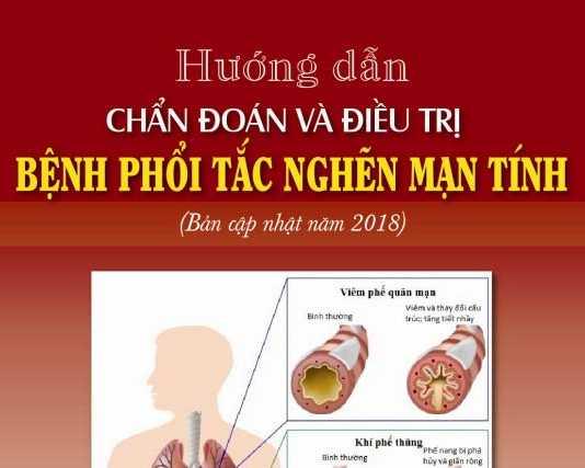 Chẩn đoán và điều trị bệnh phổi tắc nghẽn mạn tính (COPD) 2018