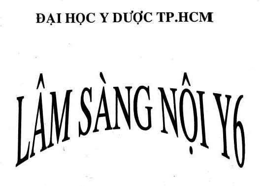 Lâm sàng Nội Y6 - ĐH Y Dược TP.HCM